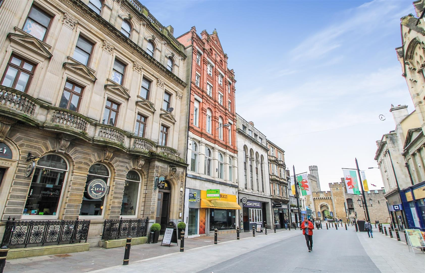 1 Bedroom Apartment Flat for sale in High Street, The Castle Quarter, Cardiff City Centre